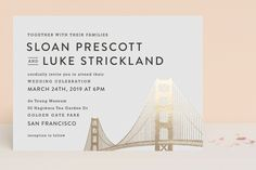 Golden Gate Bridge by Hooray Creative at minted.com