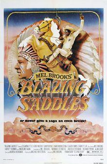 Blazing Saddles (1974) Cleavon Little, Gene Wilder, Slim Pickens, Harvey Korman, Madeline Kahn