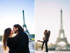 An iconic background to your kiss? Come to Paris, it was made for kissing :)  #iheartparisfr #photographerinparis #parisphotographer #trocadero #toureiffel #eiffeltower #paris