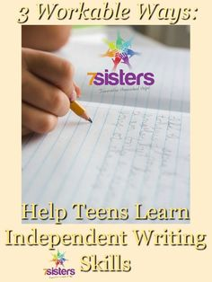 essay writing curriculum curriculum homeschool and high school 3 workable ways to help teens learn independent writing skills