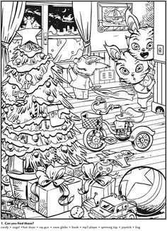 Hidden Pictures PUZZLE 1 Bears Welcome to Dover Publications