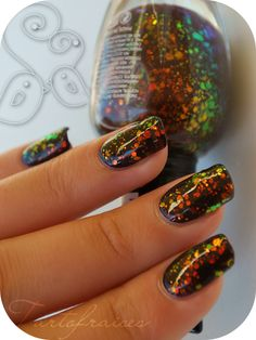 Kleancolor - Chunky Holo Black 236