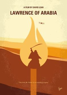 Digital Art - My Lawrence Of Arabia Minimal Movie Poster by Chungkong Art , Poster Wall, Poster Prints, Poster Poster, Poster Minimalista, Alec Guinness, Film Poster Design, Non Plus Ultra, Lawrence Of Arabia, Minimal Movie Posters