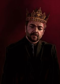 #supernatural #art #fanart #crowley #mark #sheppard