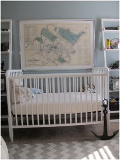 PN Anchor   #projectnursery #franklinandben #nursery