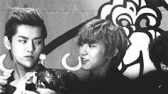 Chanyeol and Kris…..