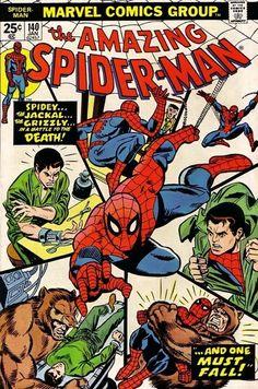 The Amazing Spider-Man #140 - January 1975