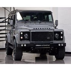 Land Rover Defender 110 Utility by Urban Automotive 4 Landrover Defender, Landrover Camper, Land Rover Defender 110, Defender 90, Land Rover Off Road, Nardo Grey, Offroad, Range Rover Supercharged, Land Rover Discovery Sport