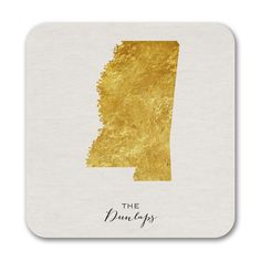 Bright State - Coasters - Mississippi. Available at Persnickety Invitation Studio.
