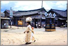 https://flic.kr/p/fyfsTV | KB - Kangnung Street Scene 3 - Korea 1953 - Over 1000 Views | Photographer Bert Crowson - Provided by Tony Vaquero