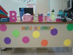 Clutter-Free Classroom: The Teacher's Desk - Setting Up the Classroom Series