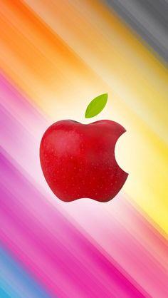 Wallpaper for iPhone Apple V8 | Apple Fever! | Pinterest | Logos ...