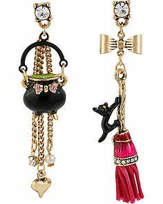 Halloween earrings Betsey Johnson