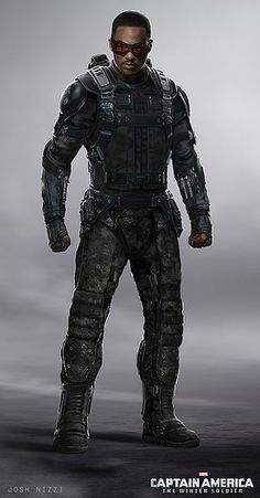 Sam Wilson || Captain America TWS || 320px × 612px || #conceptart