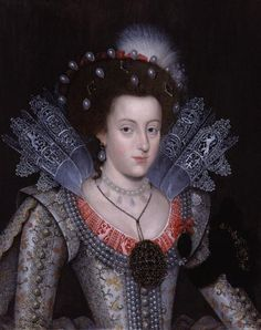 Elizabeth Stuart, Queen of Bohemia, daughter of James I, grandmother of King George I.