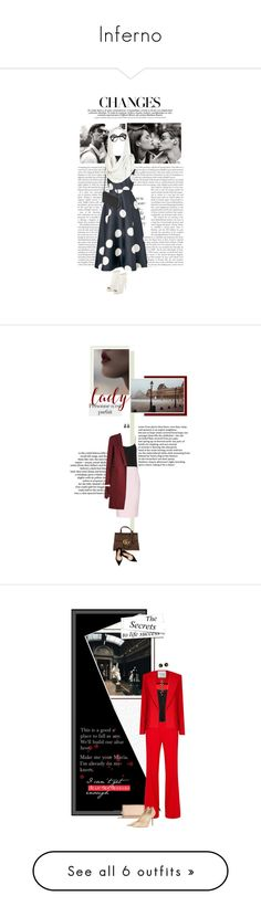 """""""Inferno"""" by katrinarudolstadt ❤ liked on Polyvore featuring classic, chic, camillabelle, FemmeFatale, L.K.Bennett, Mulberry, AllSaints, Miu Miu, BCBGMAXAZRIA and The Row"""