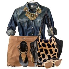 """Giraffe bag"" by doradabrowska on Polyvore"
