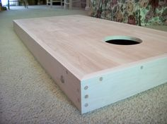 Corn Hole Boards With Bean Bag Compartment Bag Toss Tailgate Cornhole FREE SHIPPING