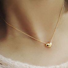 2015 hot vender moda jóias banhado a ouro colar gargantilha de coração Bib pingente de mulheres elegantes 56XO(China (Mainland)) #correntedeouro #pingentedeouro #gargantilhadeouro