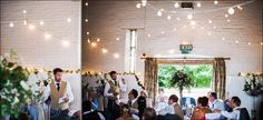 Festoon canopy at Ufton Court! Lights by Oakwood Events, Photo by Chris Legg