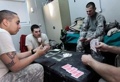 Playing card games is one way to practice decision making and cognative skills.