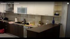Ανακαίνιση σπιτιού στον Πειραιά Kitchen Cabinets, Table, Furniture, Home Decor, Decoration Home, Room Decor, Cabinets, Tables, Home Furnishings