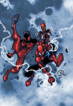 Spider-Man n Scarlet Spider