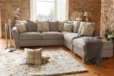 Fantasia Corner Sofa | Fabric Sofas | Shop at Harvey Norman | Harvey Norman Ireland