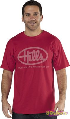 Hills Department Store shirt at 80stees.com. Super fast shipping, low prices and friendly, helpful staff. Order now.