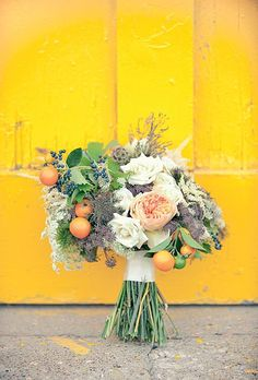 Garden Roses Wedding Flower Ideas : In Season Now