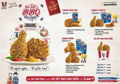 FKC khuyến mãi combo gà sốt BBQ Hàn Quốc thần thánh giá chỉ 56k
