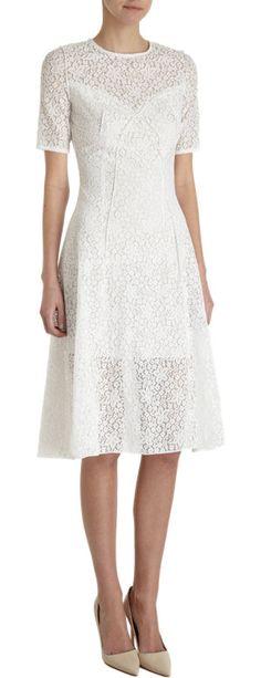 Nina Ricci Floral Lace Dress at Barneys.com