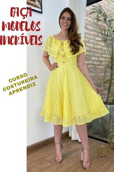 Short Sleeve Dresses, Dresses With Sleeves, Maria Jose, Cute Comfy Outfits, Dress Collection, Stylish, Casual, 1, Blog