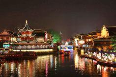 Barrio del Templo de Confuccio de Nanjing  Fotografía: Agente Europamundo