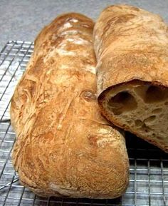 How to Make a Perfect Ciabatta Loaf
