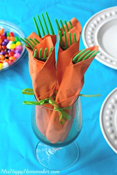 Easter Table Place Setting Mrs Happy Homemaker
