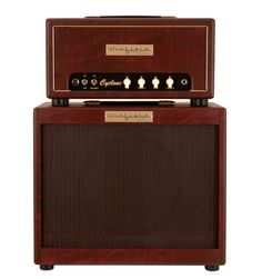 Winfield Cyclone Amplifier Head and 1X12 Cabinet Burgundy | Rainbow Guitars