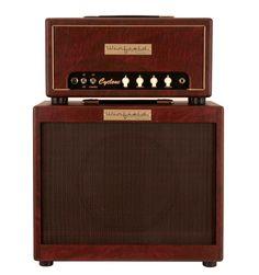 Winfield Cyclone Amplifier Head and 1X12 Cabinet Burgundy | Rainbow Guitars