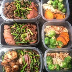 Meal prep make ahead meals - freezer meals Healthy Meals For Two, Make Ahead Meals, Healthy Foods To Eat, Freezer Meals, Healthy Dinner Recipes, Breakfast Recipes, Healthy Eating, Healthy Life, Weight Loss Meal Plan