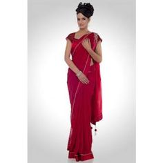 maroon beautiful saree - Online Shopping for Designer Sarees by shopping palace