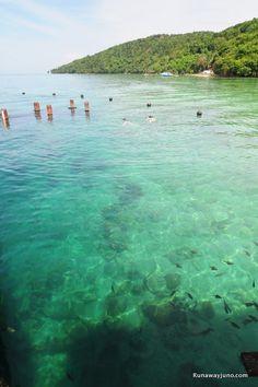 Palau Mamutik, Borneo, Malaysia