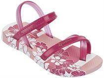 Ipanema fashion sand II baby wit/roze