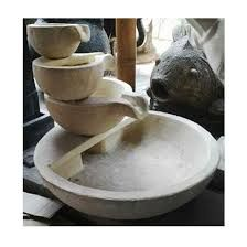 Image result for round stacked bowls water fountain