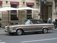 1969 Mercedes-Benz 280 SE cabriolet by Paris Espresso Apartments - Marais Montmartre, via Flickr