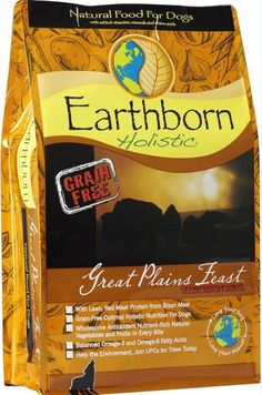 Earthborn Holistic Great Plains Feast Grain Free Natural Dog Food