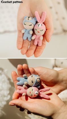 Crochet Animal Patterns, Crochet Doll Pattern, Crochet Dolls, Doll Patterns, Handmade Ideas, Handmade Toys, Etsy Handmade, Handmade Crafts, Diy Crochet And Knitting