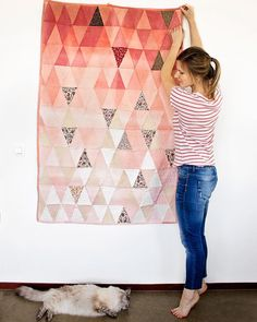I have a confession to make - I started this pink little quilt almost three years ago, and I finished it only now! it took me so long not…