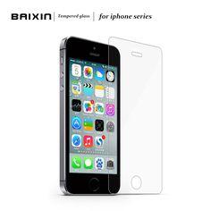 강화 유리 화면 보호기 apple iphone 4 4 s 5 5 s 5c se 6 6 초 6 플러스 7 4.7 인치 7 플러스 5.5 인치 필름