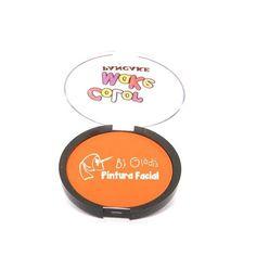"""Pancake Fluorescente, perfeita para usar sobre a luz negra - Efeito Neon """"GLOW PARTY"""" ;)"""