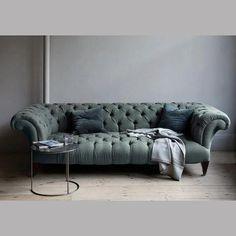 blue / green  sofa